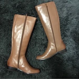 Corso Como Shoes - CORSO COMO Florence Rena Brady Leather Knee Boots
